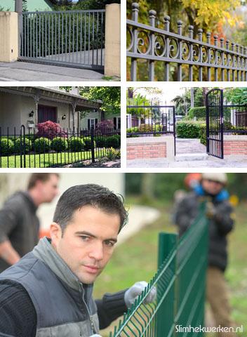 Voorbeelden van hekwerken